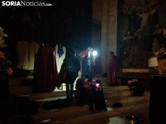 Foto 4 - Suspendida la procesión del Vía Crucis de las Caídas de Jesús por las calles
