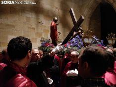 Suspendida la procesión del Vía Crucis de las Caídas de Jesús por las calles