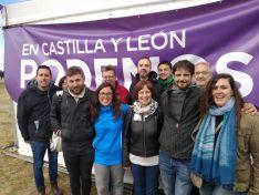 Unidas Podemos lleva las reivindicaciones sorianas a Villalar