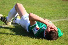 El San José perdió (1-2) ante el Villamuriel en San Juan de Garray. Izana Silva
