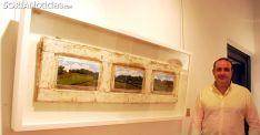 Joseja Casado, ante una de sus obras en una imagen de archivo. /SN