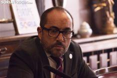Rueda de Prensa Ayuntamiento de Soria. /Jasmín Malvesado