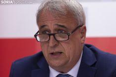Rueda de Prensa PSOE. /Jasmín Malvesado