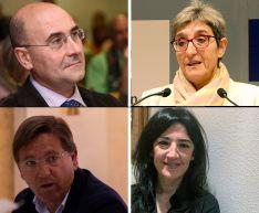 Jesús Manuel Alonso, Pilar Delgado, Gerardo Martínez y Laura Prieto. /SN