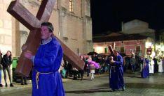Una escena de la Semana Santa sanestebeña.