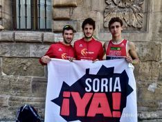 El Triatlón Soriano se tuvo que conformar con una decimoséptima plaza en el Nacional por relevos en Avilés.