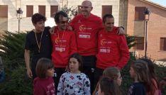 David Rodríguez Rújula reina en el duatlón cross de Melgar de Yuso.