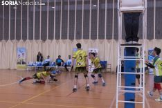 Campeonato Regional de Voleibol en Soria de Cadetes y Juveniles. /Jasmín Malvesado