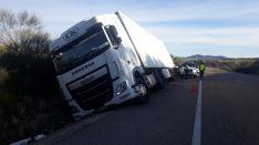 Accidente en la comarcal 101.