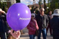 Cierre de campaña en Soria.