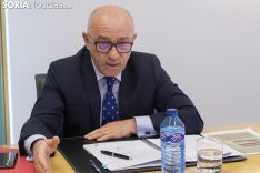 Firma de convenios entre Caja Rural y La Cámara. /Jasmín Malvesado