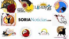 Logotipos de las cuadrillas para las Fiestas de San Juan 2019