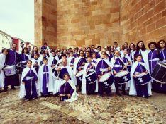 Domingo de Pascua en la ciudad de Soria. Última procesión.