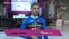 Samuel Campos, campeón de la Jamón Bike en Calamocha.
