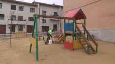 Parque de las Escuelas. /Ayto.