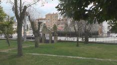 Parque calle Numancia. /Ayto.