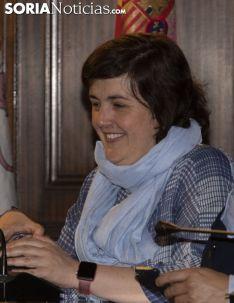 Sonrisas en el consistorio soriano tras el 28A. /Jasmín Malvesado