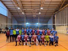 Campeonato Regional de Voleibol en Soria de Cadetes y Juveniles. /FOTOS MARÍA MORALES