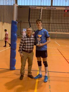 Campeonato Regional de Voleibol en Soria de Cadetes y Juveniles. /FOTO MARÍA MORALES