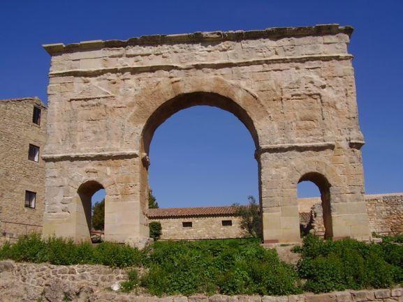 Arco romano. Ayuntamiento de Medinaceli