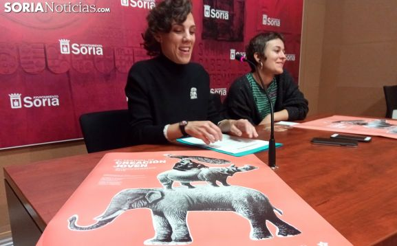 Inés Andrés y Elena Martínez este viernes. /SN