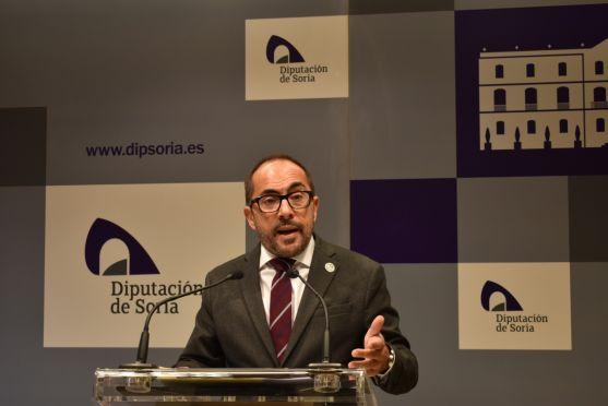 Luis Rey, presidente de la Diputación.