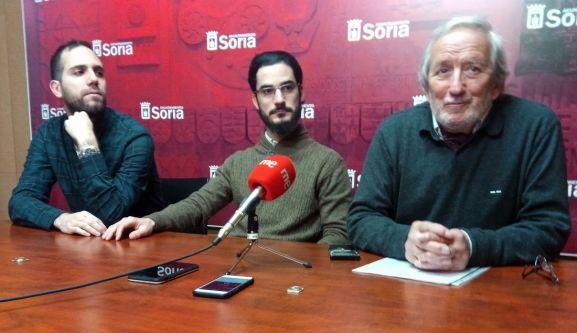 Bárez, (dcha.), Atienza y Delgado. /SN