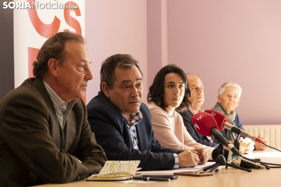 Rueda de prensa Ciudadanos. /Jasmín Malvesado