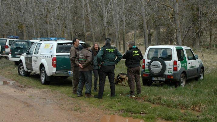 Operativo conjunto de la Junta y la Guardia Civil. /Jta.