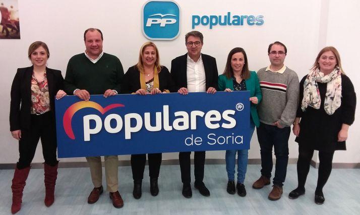 La candidatura popular soriana a las Cortes regionales.
