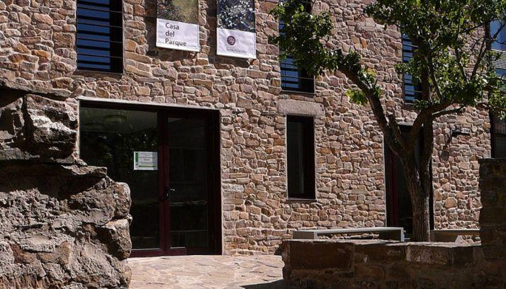 Imagen de la Casa del Parque del Acebal de Garagüeta.