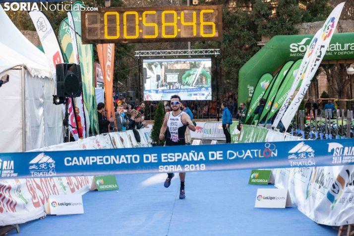 FOTOS: Antonio Benito e Irene Loizate protagonizan la fiesta del deporte en Soria