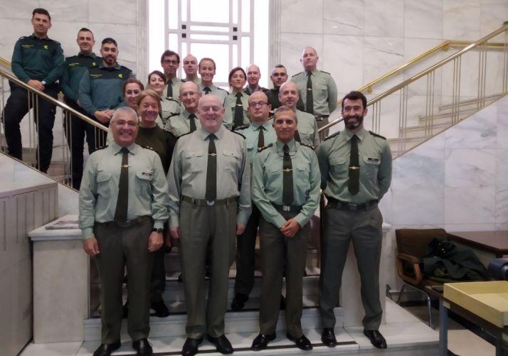 Los asesores jurídicos de la Guardia Civil se coordinan esta semana en Soria