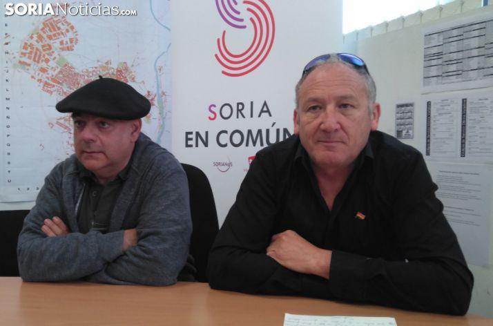 Nicasio Martínez y José Alberto Lorenzo.
