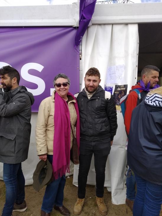 Foto 2 - Unidas Podemos lleva las reivindicaciones sorianas a Villalar