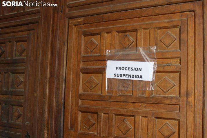 Suspendida la procesión del Silencio. SN