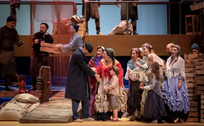 Foto 1 - La ópera 'Marina', este jueves en La Audiencia