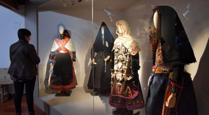 'A la gala de la buena novia', actual muestra en el museo de Morón de Almazán. /Dip.