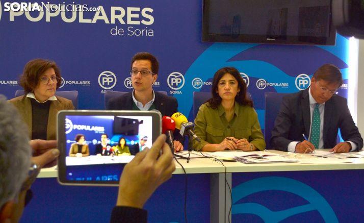 Angulo, Cabezón, Prieto y Martínez este miércoles. /SN