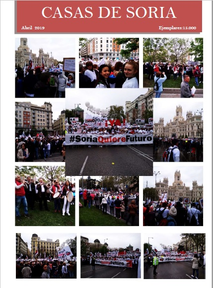 Foto 1 - Editada la revista de abril de la Federación de Casas Regionales de Soria
