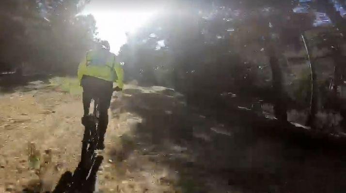 Una imagen del vídeo promocional de la prueba