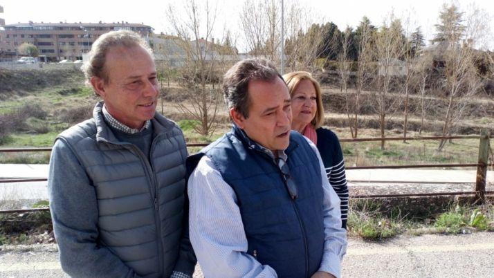 De Gregorio (dcha.) con José Boces.