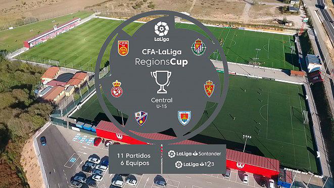 Foto 1 - La Ciudad Deportiva se viste de gala para acoger la Regions Cup Central U-15