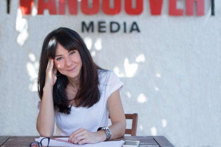 Esther Martínez Lobato, guionista y cocreadora de las series 'Los hombres de Paco', 'Vis a Vis' o 'La casa de papel'. María Heras