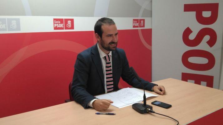 Angel Hernández, procurador socialista soriano.