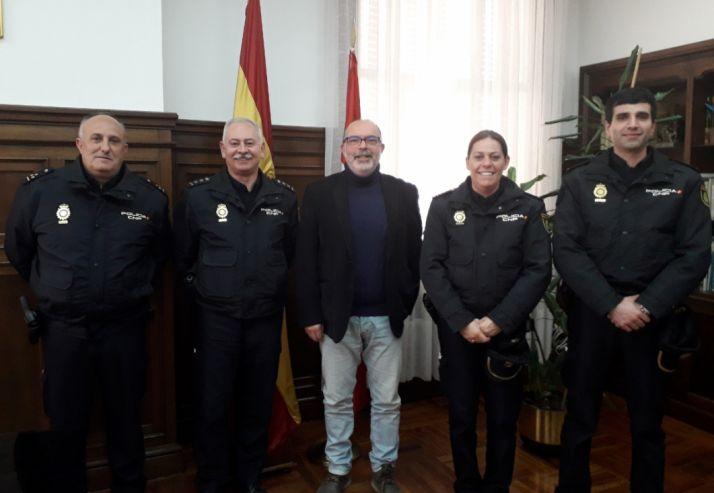 Foto 1 - Tres nuevos inspectores se incorporan a la Comisaría de Soria