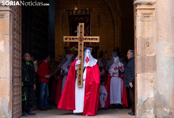 Vía Crucis en el arranque de la Semana Santa soriana