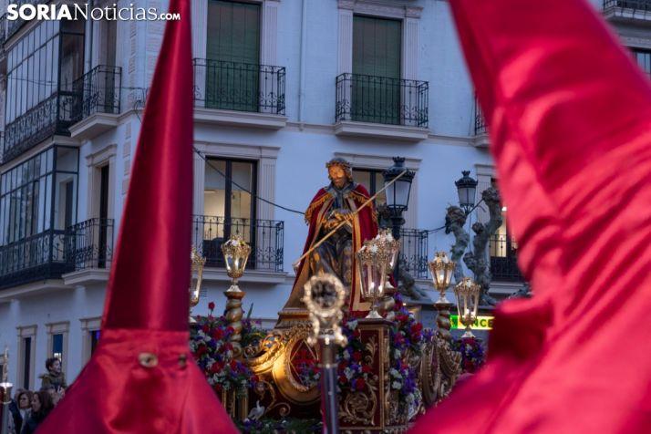 Multitudinario silencio en la procesión del Ecce Homo (2019)