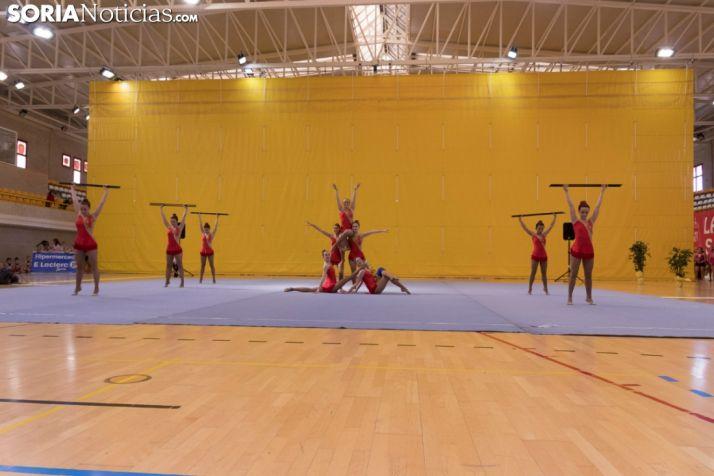 Provincial de Gimnasia en Soria. /Jasmín Malvesado
