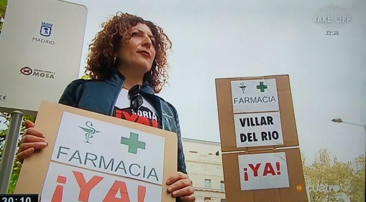 Foto 2 - Villar del Río y su farmacia, protagonistas en Cuatro
